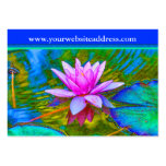 Lotus Lily Flower - Yoga Studio, Spa, Beauty Salon Business Cards