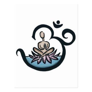 Lotus Lover Yoga Postcard