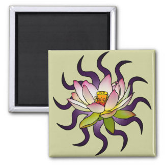 Lotus Refrigerator Magnets