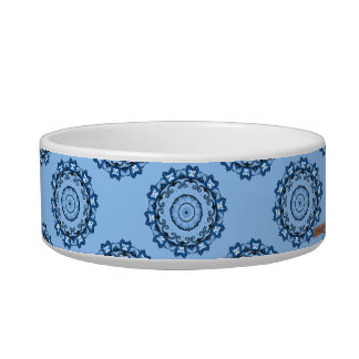Lotus Mandala (Blue) Bowl
