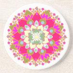 Lotus Mandala Coaster