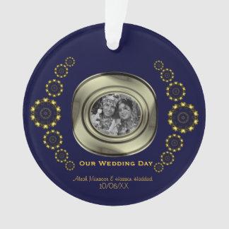 Lotus Mandala (Henna) (Golden) Ornament