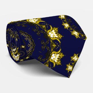 Lotus Mandala (Henna) Neck Tie