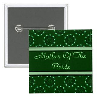 Lotus Mandala (Henna) (Wedding) Pinback Button