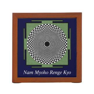 Lotus mandala Nam Myoho Renge Kyo Pencil/Pen Holder