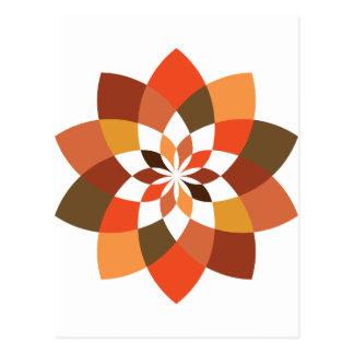 Lotus Mandala Postcard