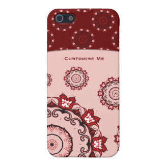 Lotus Mandala (Red) Cover For iPhone SE/5/5s