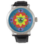 Lotus Mandala Wrist Watch