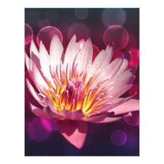 Lotus Plantilla De Membrete