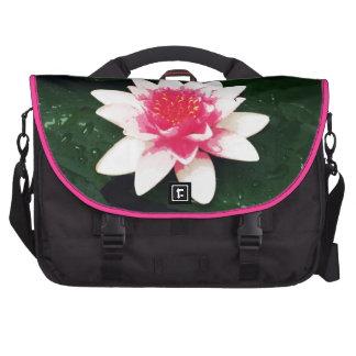 Lotus - Mixed media Computer Bag