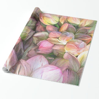Lotus Moods Art Gift Wrap