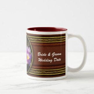 Lotus - Nymphaea  - Pleasant Day Two-Tone Coffee Mug