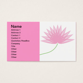 lotus-of-waves, Name, Address 1, Address 2, Con... Business Card