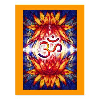 Lotus OM Art Postcard