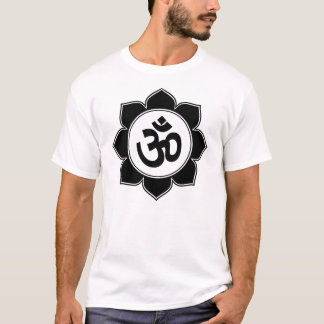 Lotus Om Design T-Shirt