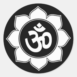 Lotus OM diseña Pegatina Redonda