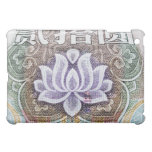 Lotus on a Chinese Yuan Case For The iPad Mini
