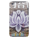 Lotus on a Chinese Yuan Case-Mate iPod Touch Case