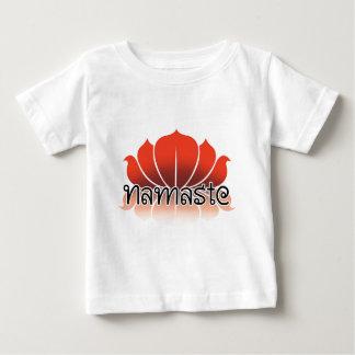 Lotus Orange Baby T-Shirt