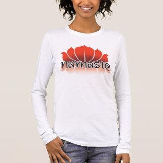 Lotus Orange Long Sleeve T-Shirt