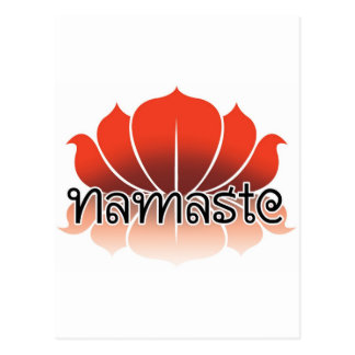 Lotus Orange Postcard