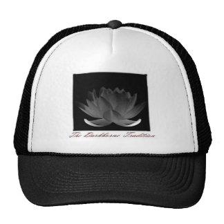 Lotus oscuro gorros bordados