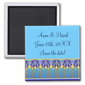 Lotus Palace Save the Date Magnet
