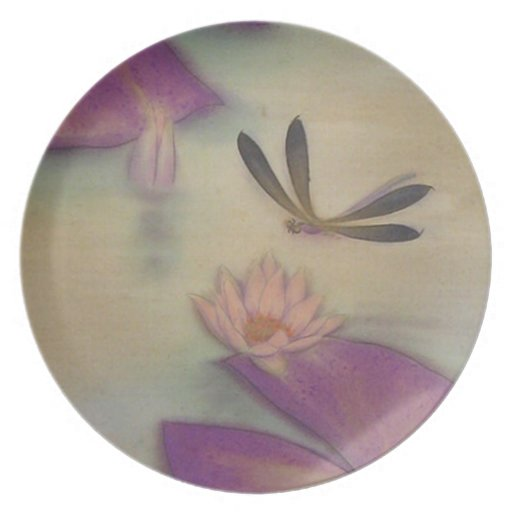 lotus party plate
