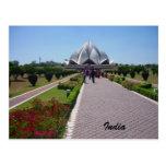 lotus path india post cards