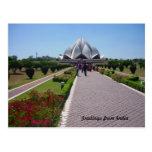 lotus path post card