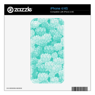 Lotus pattern 2 skin for iPhone 4S