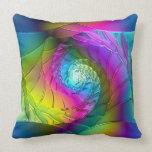 Lotus Pattern Glass Art 2A Pillows