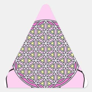 Lotus Pin2 Triangle Sticker