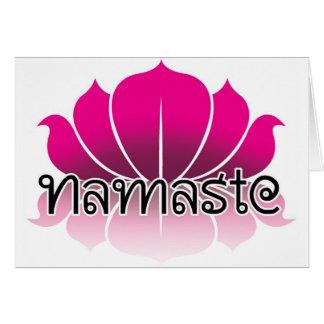 Lotus Pink Card