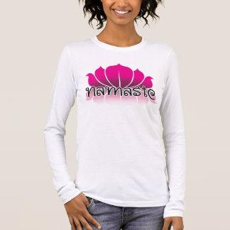 Lotus Pink Long Sleeve T-Shirt