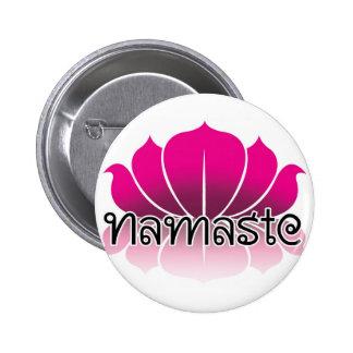 Lotus Pink Pinback Button