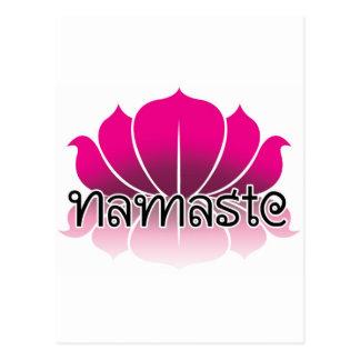 Lotus Pink Postcard