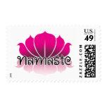 Lotus Pink Stamps