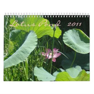 Lotus Pond, 2011 Wall Calendars