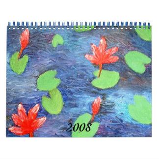 Lotus Pond Calendar 2008
