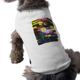 Lotus Pond Doggie Tee Shirt