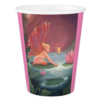 Lotus Pond Fairy Paper Cup