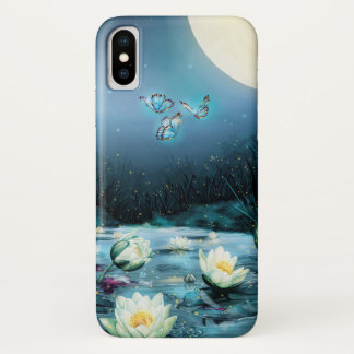 Lotus Pond iPhone X Case