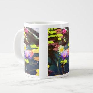 Lotus Pond Large Coffee Mug