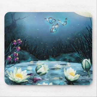 Lotus Pond Mouse Pad