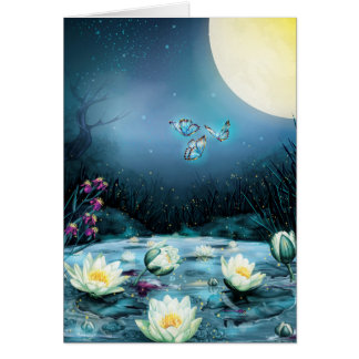 Lotus Pond Note Card
