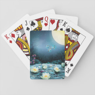 Lotus Pond Playing Cards