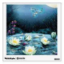 Lotus Pond Wall Decal