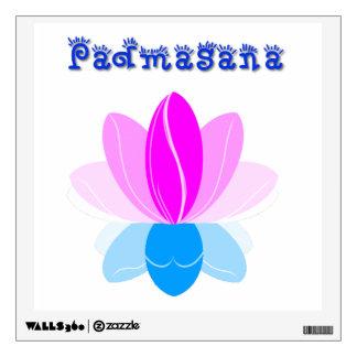 Lotus Pose Room Graphics