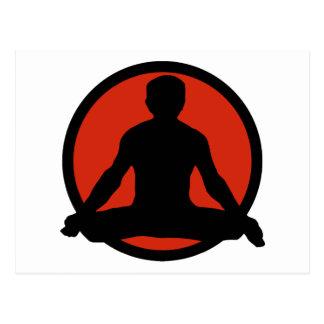 Lotus Pose Yoga Gifts Postcards
